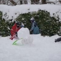Faire un bohomme de neige