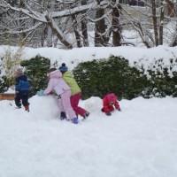 Faire un bonhomme de neige