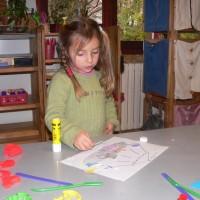 Bricolage et décoration de la classe