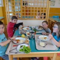 Les repas au CREPS